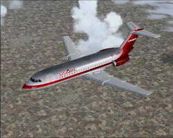 FS2004 US Air BAC One-Eleven 200