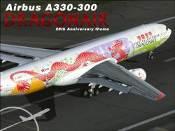 FS2002/FS2004 PROJECT OPENSKY AIRBUS A330-300 Dragonair 20th | Livery