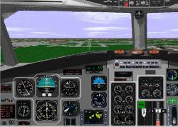 FS98 panel--BAC One Eleven