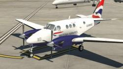 X-Plane British Airways King Air C90B (G-SWXC) 1.1