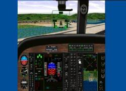 FS98 Panel--Seven Single Engine Prop Panels With HUD