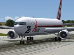 FS2004 ABX Air Cargo 25th Anniversary 767-300