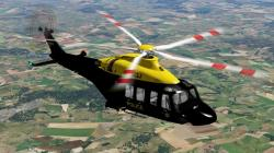 X-Plane Scottish Police AW 139 1.4