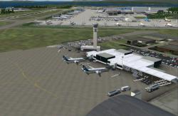 FS2004 Scenery--SFS Paine Field/Everett Boeing Factory v1.1