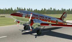 X-Plane 11/10 Trans-Canada Air Lines (Polished) C-47/DC-3 1.0