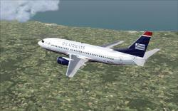 FS2004/FSX US Airways Boeing 737-3S3 SGA/FFX