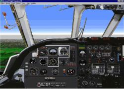 FS98 panel--Vickers VC-10