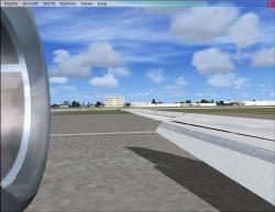 FSX Wing Views For FFX/SGA MD-83
